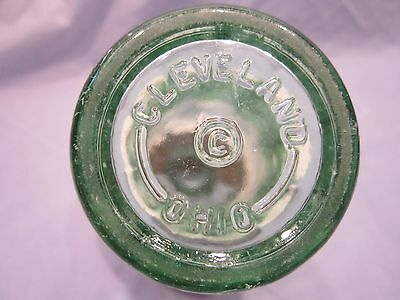 Cleveland Ohio 1953 Coke Coca Cola 6 Ounce Bottle Hobble Skirt Embossed Old Logo