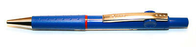Rotring  Rollerball Pen Clipper Blue  Capless  Pen New In Box Click  Retractable