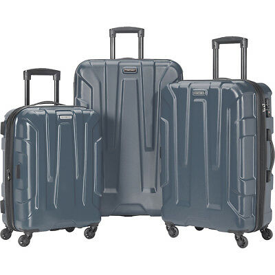 Samsonite Centric 3 Piece Expandable Hardside Spinner Luggage Set NEW