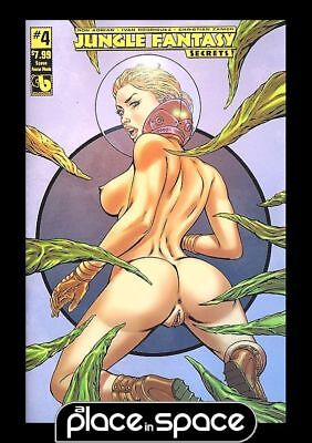 Jungle Fantasy Secrets #4M - Space Fauna Nude Variant (Wk50)