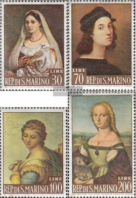 San Marino 760-763 (complete.issue.) unmounted mint / never hinged 1963 Painting