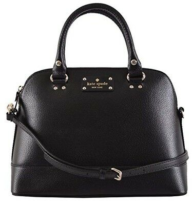 NWT Kate Spade Wellesley Small Rachelle Satchel Handbag Shoulder Bag Black
