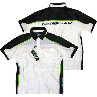 Caterham HPE Performance Team F1 Polo Poloshirt Herren Shirt Formel 1 Gr. XL NEU