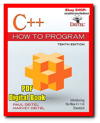 [EB00K] C++ How to Program Deitel 10th Edition pdf
