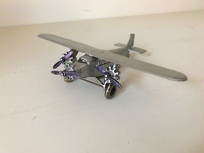 TOOTSIETOY FORD TRI-MOTOR AIRPLANE - 1930-40's VINTAGE - HARD TO FIND - MUST SEE