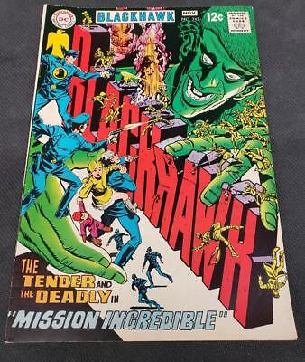 Blackhawk #243   DC Comics 1968  FN-