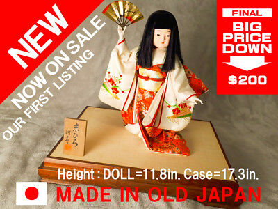 ANTIQUE JAPANESE DOLL from listed by shop of Japan