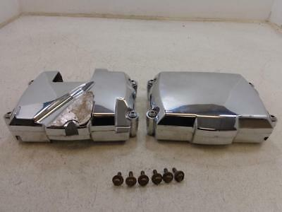 1998-2017 Yamaha XVS650 VStar V-star 650 CHROME CYLINDER HEAD FRONT REAR COVER