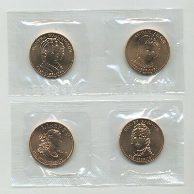 2007 First Spouse Bronze Medal Series - Four Medal Set 1st yr Issue By U.S Mint