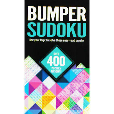 Bumper Sudoku - Over 400 Puzzles by Igloo Books (Spiral Bound), Books, Brand New