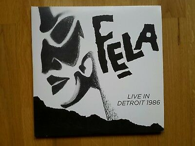 FELA KUTI Live in Detroit 1986 4LP