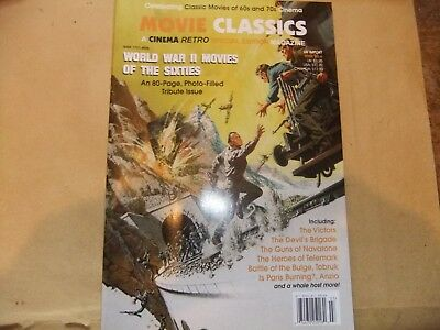 Cinema Retro Movie Classics 6 World War Two Movies Of The Sixties Special 2