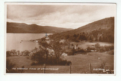 Old Cotton Mill Spinningdale Dornoch Firth Sutherland 1931 Real Photograph