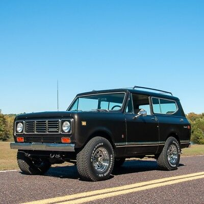 1976 International Harvester Scout Scout II4x4 1976 International-Harvester Scout II4x4