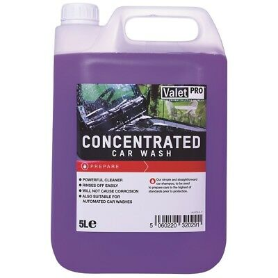 Concentrated Car Wash 5L ValetPro - Shampoing pH neutre auto