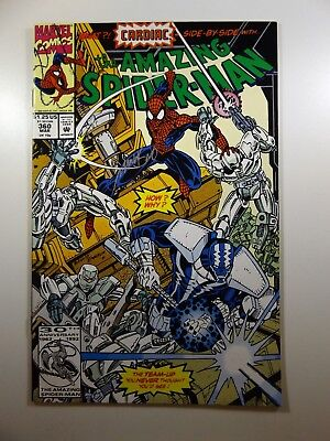The Amazing Spider-man #360 Carnage Cameo! Signed Bagley! NM- Condition!!