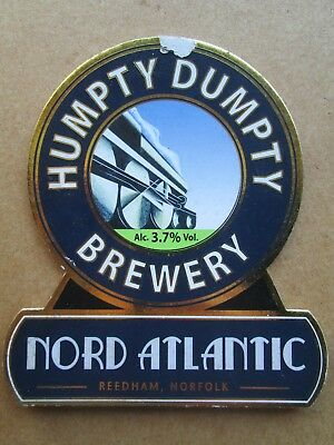 Humpty Dumpty Brewery Nord Atlantic Beer Pump Clip