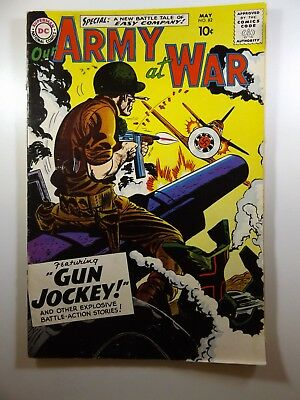 Our Army At War #82 1st Sgt Rock! Key Issue VG- Condition! Rusty Staples