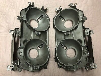 "1966 66 Fairlane Headlight Buckets ""VERY NICE"""