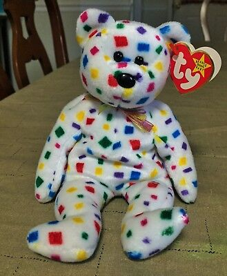 """VINTAGE 2000 TY BEANIE BABIES COLLECTION """" Ty-2K """"  BEAR"""