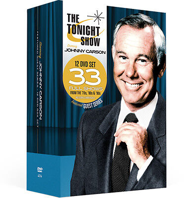 Johnny Carson Featured Guest Series 12 DVD - Johnny & Friends Collection - DEAL!