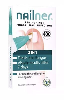 Nailner Pen Against Fungal Nail Infection 2 In 1 Contains 1 Nail Fungus Pen