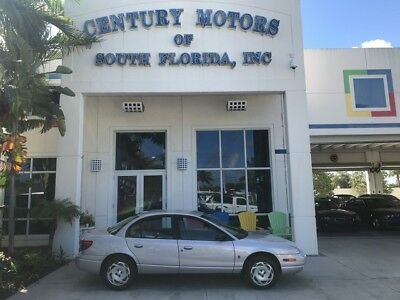 2000 Saturn S-Series  Cassette A/C Cloth Seats Front Wheel Drive