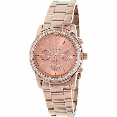 Invicta Women's 11774 Angel Rose 18k Gold Ion-Plated Stainless Steel Watch - NEW