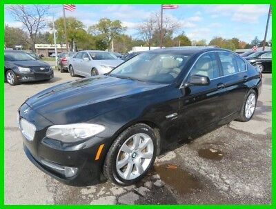2011 BMW 5-Series 550i xDrive 2011 550i xDrive Used Turbo 4.4L V8 32V Automatic AWD Sedan Premium clean clear