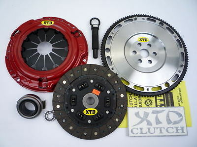 Xtd Pro Stage 2 Clutch & 10Lbs Flywheel Kit 92-05 Civic Del Sol D15 D16 D17