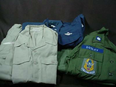 NobleSpirit NO RESERVE (DF) US WW2 Korea Named Airforce Wings Pilot Grouping