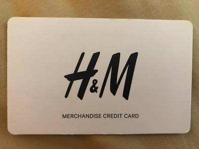 H & M Merchandise Credit Gift Card $48.97