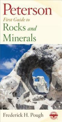 Peterson First Guide to Rocks and Minerals by Pough, Frederick H., Good Book