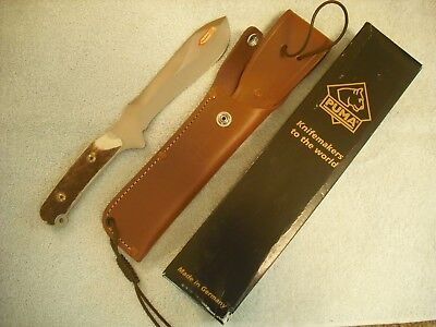 Puma New White Hunter Stag Hunting Sheath Knife Mint In Box No Res. Selling More