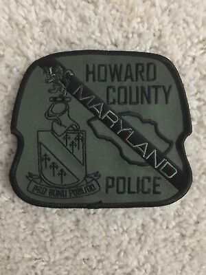 Howard County Police Maryland SWAT Police Patch