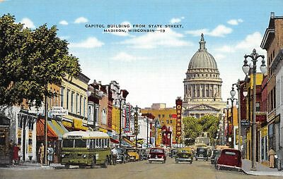 C11-8466, State Capitol, Madison, Wis.,