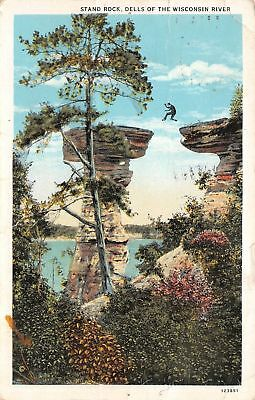 C11-8581, Stand Rock, Dells Of Wisconsin River, Wis.,