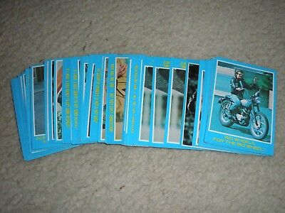 Lot of 40 Assorted 1976 Topps Happy Days Series 1 Blue Border Partial Set F/Vg