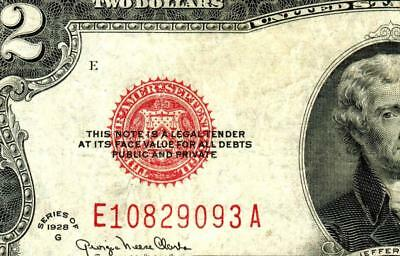$2 1928G United States Note ** MORE CURRENCY FOR AUCTION **