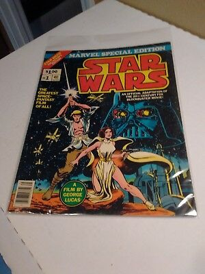 Marvel Special Edition: Star Wars  Issue #1    --1977 Oversize