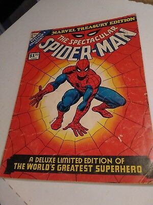 Marvel Treasury Edition: The Spectacular Spider-Man Issue #1--1974 Oversize