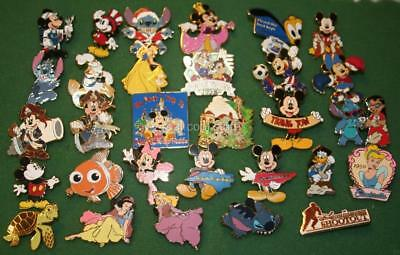 50 Random Disney Pins - No Duplicates - Trade or Keep - FREE US Ship - U