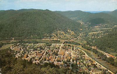 C11-9154, Pineville From Lookout Rock, Pine Mt. St. Park, Ky.,