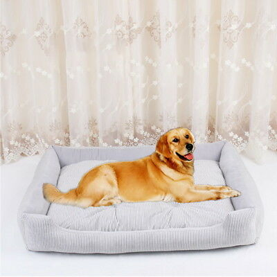 Pet Dog Cat Bed Cushion Warm Mat Soft Pad Nest For Crate Sleeping Beds House BD