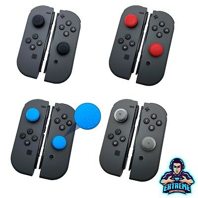 2 x EGP© Round Series Thumb Stick Grips For Nintendo Switch Joy Con Controller