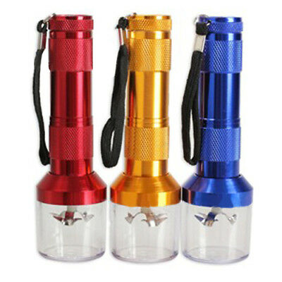 Aluminum Alloy Electric Grinder Crusher Herb Spice Herbal Smoke Muller Fashion