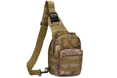 Outdoor Shoulder Backpack Military Travel Camping Hiking Trekking Bag Derest