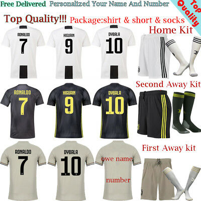 2019 Football Stadium Football Kits Jersey Soccer Outfits 3-14 For Adults Kids