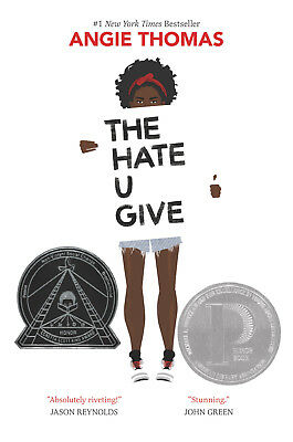 THE HATE U GIVE by Angie Thomas (2017, eBooks)