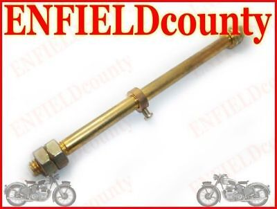 New Flag Rod Golden Solid Brass Royal Enfield Classic Motorrad